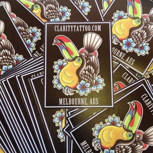 Claritytattoo stickers