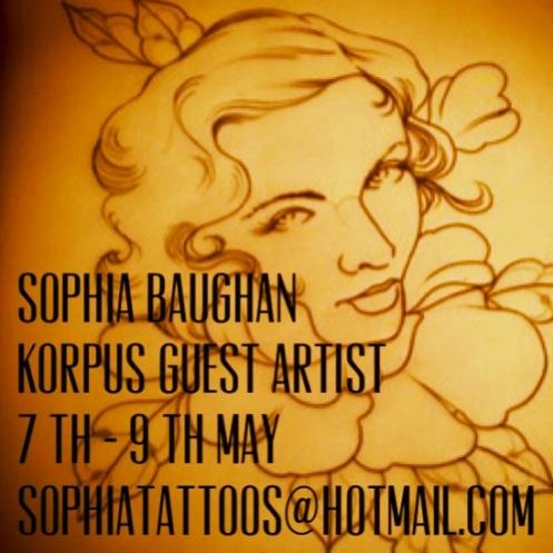 Korpus Guest Artist- Sophia Baughan