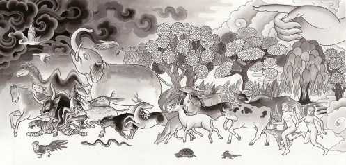 Brian Graydon- elephant painting copy